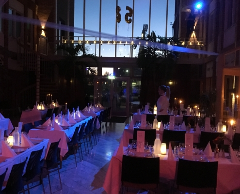 Matsmak festlokal bröllop